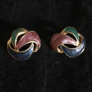 A Beautiful Set Of Pierced Earrings
